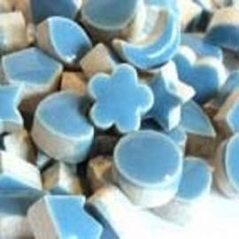 Mini geglazuurd keramiek dusty blue