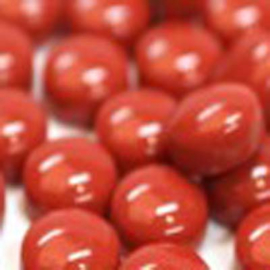 Glasnopjes rood