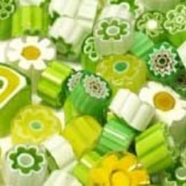 Millefiori Brazil Green mix