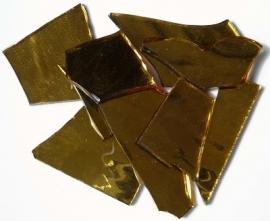 Spiegelglas goud handgeknipt