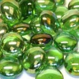 Groen kristal parelmoer