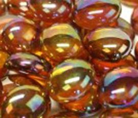 Amber kristal parelmoer