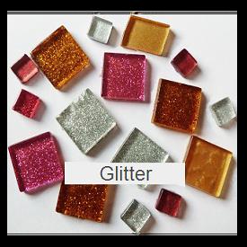 Mozaiek steentjes glitter