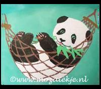 Gipsbuik beschilderd