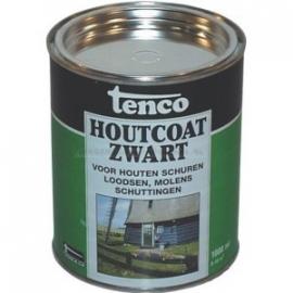 Tenco Houtcoat Zwart 1L