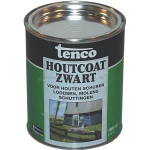 Tenco Houtcoat Zwart 2.5L