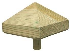 Paalornament piramide  van Hout