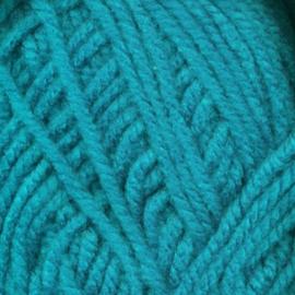 BABS gebreide bulky sjaal grijs