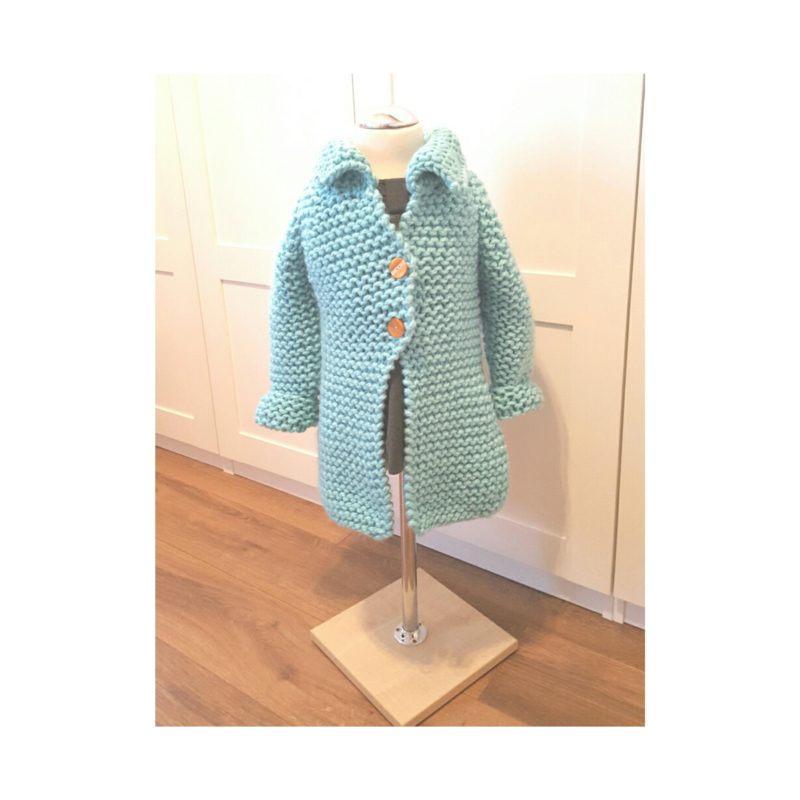 KATE cardigan mint (mini)