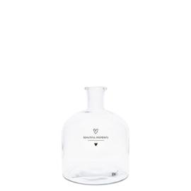 Glass Bottle Beautiful Moments 13,5 cm
