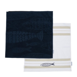 The Seafood Club Kitchen Towel 2 pieces