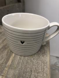 Mug Stripes&Heart