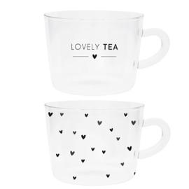 Theeglas Lovely Tea of Hearts