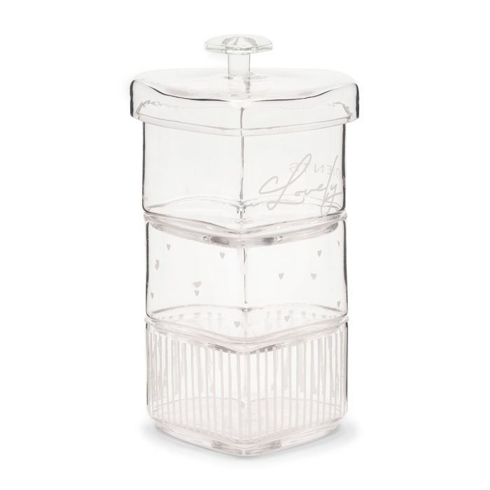 Lovely Ingredients Triple Storage Jar