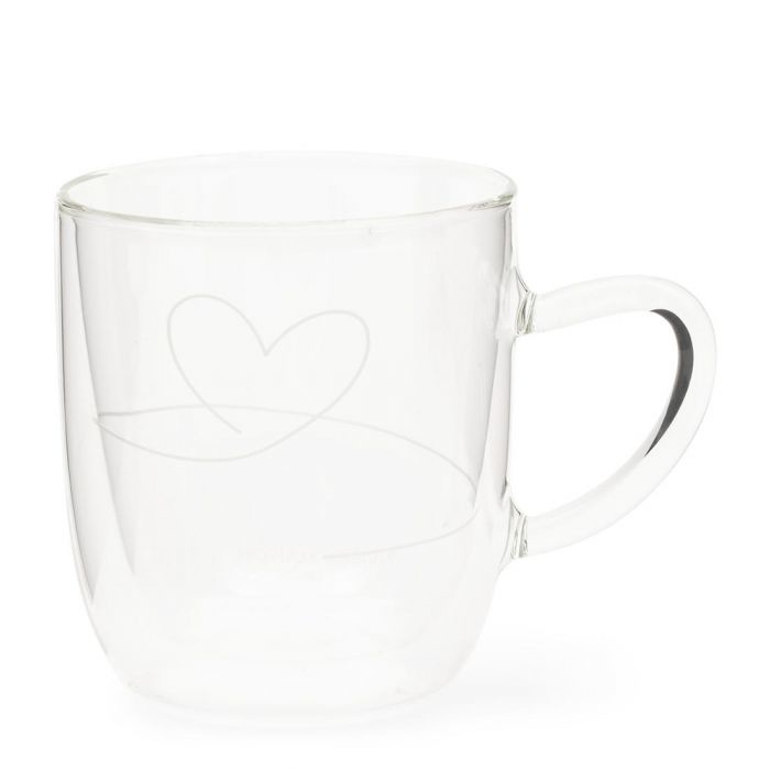 With Love Double Wall Glass M