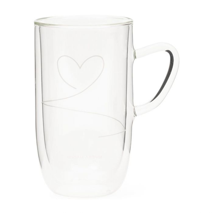 With Love Double Wall Glass L