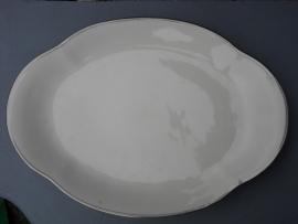 ovalen serveerschaal