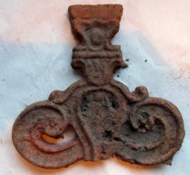 gietijzeren ornamentje