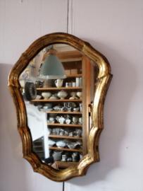 Lief gouden spiegeltje