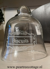 glazen stopje biscuit