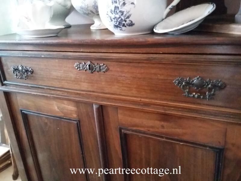 3 Antieke Bijzettafeltjes.Antieke Kast Verkocht Pear Tree Cottage Brocante Landelijk Wonen