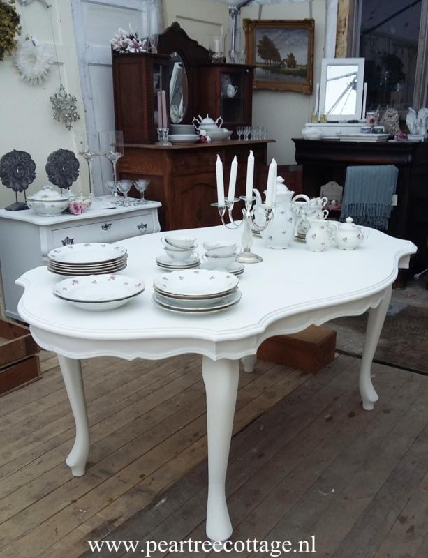 Brocante Eetkamer Tafel.Eetkamertafel Queen Anne Verkocht Verkocht Pear Tree Cottage