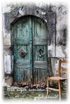 een eigen voordeur