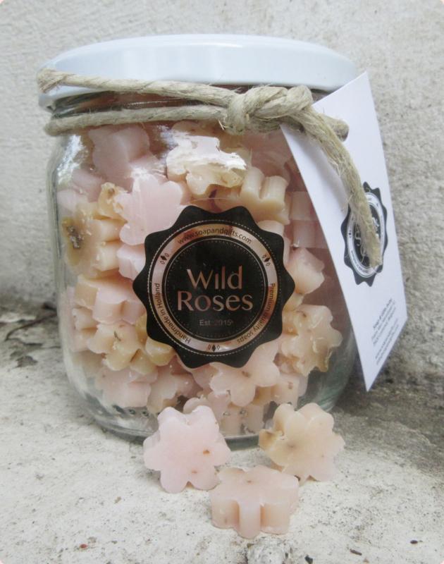 Pot met kleine zeepjes (Wild Roses)