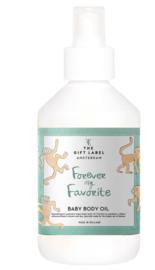 Baby  Body Oil - Forever My Favorite Groen