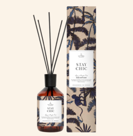 The gift label - geurstokjes - spicy and royal oud - Stay chic