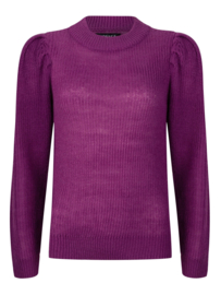 Ydence Knitted sweater Sanne purple