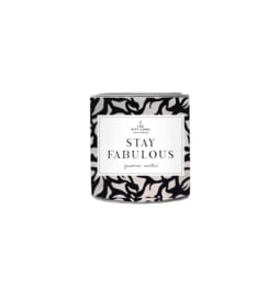The gift label - candle - Jasmine vanille - Stay fabulous Big