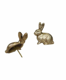 Doing goods candle pin bunny