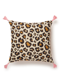 Doing goods leopard cushion