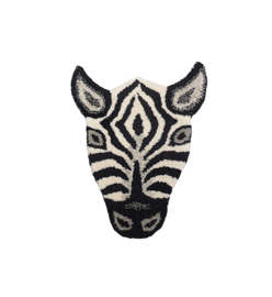 DOING GOODS |  ZEBRA HEAD RUG