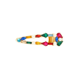 Haarclip pearls & colours