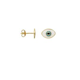 Anna Nina Single Eye Stud Goldplated