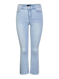 PIECES Kamelia kick flared jeans