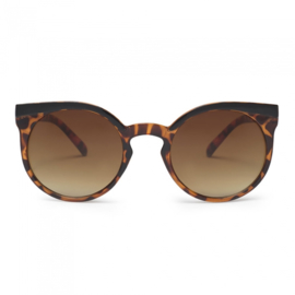 Charly therapy lady in satin -black/ tortoise