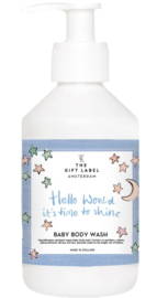 Baby Body Wash - Hello World it's Time To Shine Paars