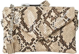 crossbody snake small white pepper