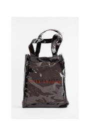 Jouer studio black transparant bag