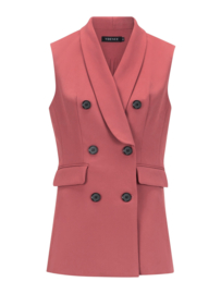 Gilet lisa dusty pink