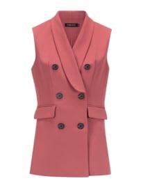 YDENCE Gilet lisa dusty pink