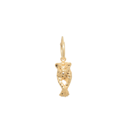 Anna Nina Single Leopard Ring Earring Goldplated