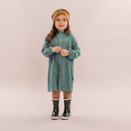 No labels kidswear blouse dress blue stars