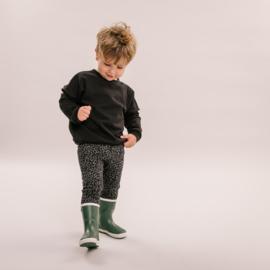 No labels kidswear legging leopard grey