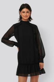 NAKD high neck crochet dress