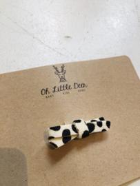 Oh little deer - Luna white/black clip