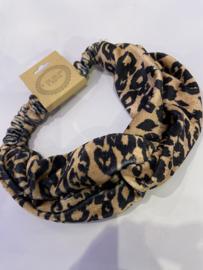 Haarband Leopard velvet